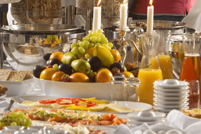 Buffet på Restaurant Ø på Enjoy Resorts